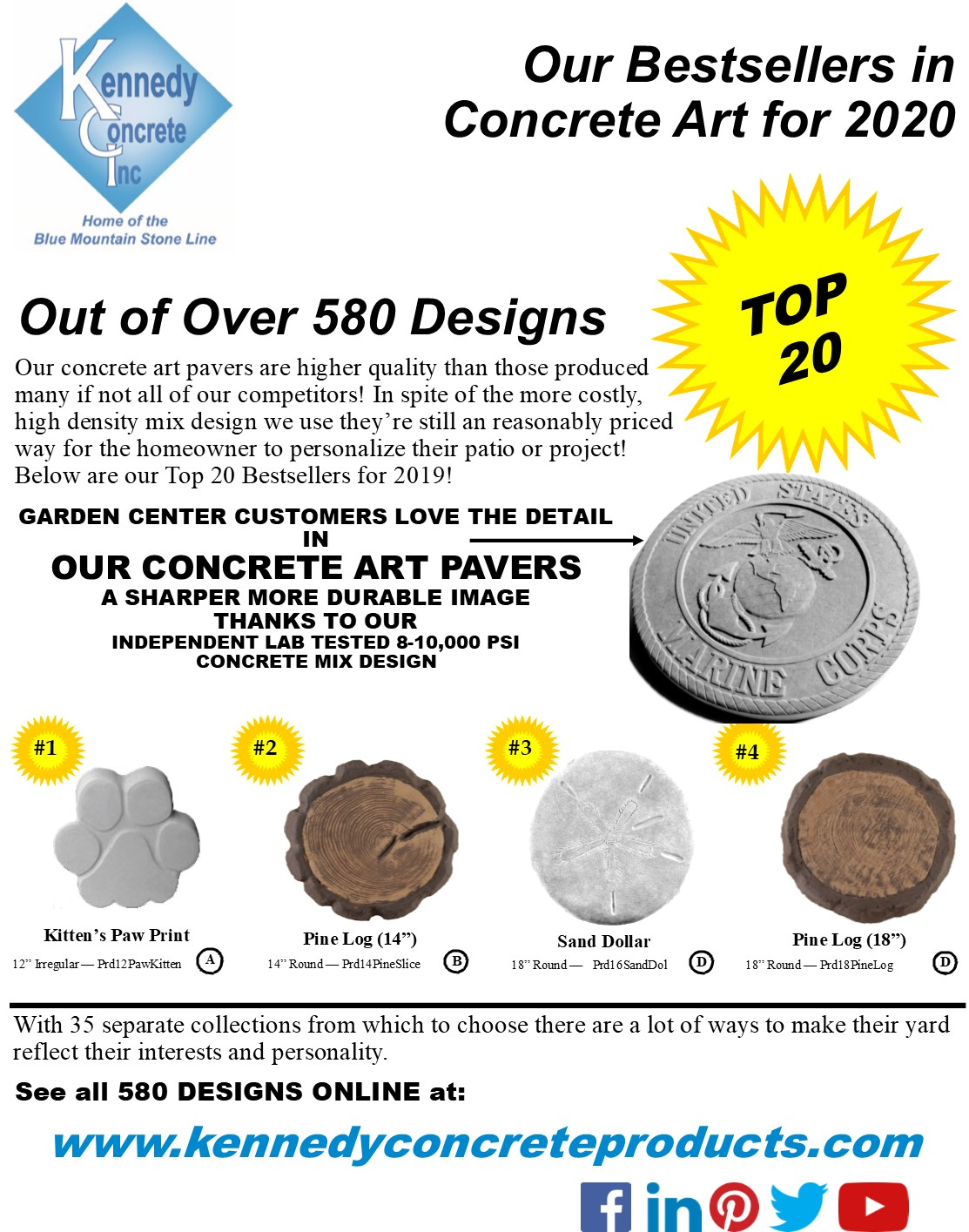 2020 Kennedy Concrete Hardscape Catalog