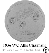 1936 WC Allis Chalmers