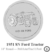 1951 8N Tractor