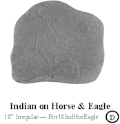 Indian on Horse Eagle