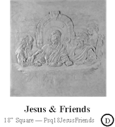 Jesus and Friends