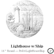 Lighthouse with Ship