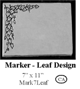 Marker - Leaf Design