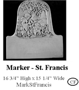 Marker - St Francis