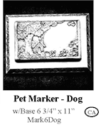 Pet Marker - Dog