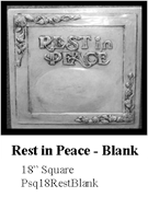 Rest in Peace - Blank
