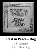 Rest in Peace - Dog