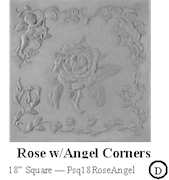 Rose with Angel Corners
