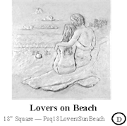 Lovers on Beach