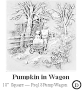 Pumpkin in Wagon