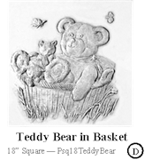 Teddy Bear in Basket
