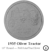 1935 Oliver Tractor