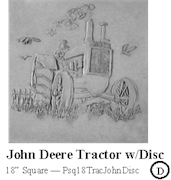 John Deer Tractor with Disc
