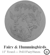Fairy and Hummingbirds
