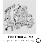 Fire Truck and Dog