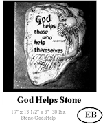 God Helps Stone