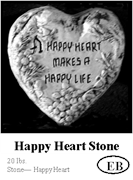 Happy Heart Stone