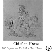 Chief on Horse