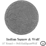 Indian Squaw Wolf