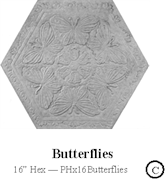 Butterflies 16 Hex