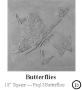 Butterflies 18 Square