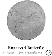 Engraved Butterfly