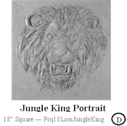 Jungle King Portrait
