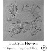 Turtle in Flowers