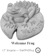 Welcome Frog