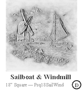 Sailboat & Windmill