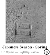 Japanese Season Spring Sq