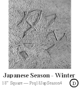 Japanese Season Winter Sq