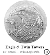 Eagle and Twin Towers