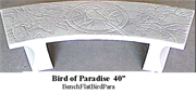 Bench - Bird of Paradise