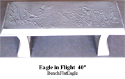 Bench - Eagle in Flight 40