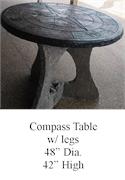 CompassRosePatioTable