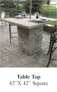 Patio Table 42x42 Square
