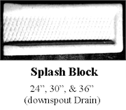 Splash-Block