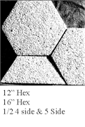 Exposed-Aggregate-Hex